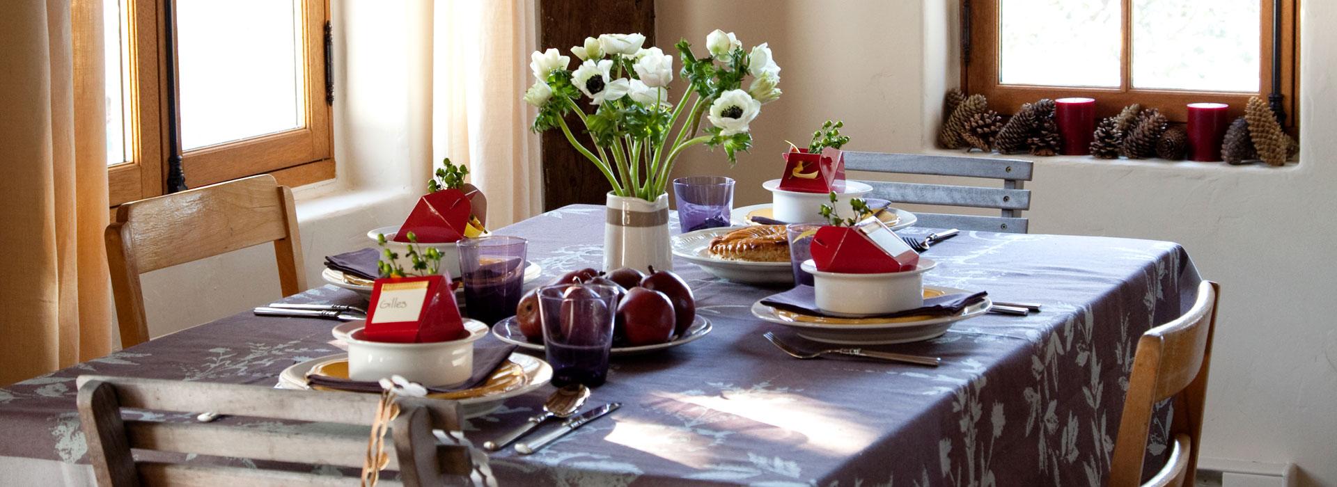 Galerie de maisons table à manger