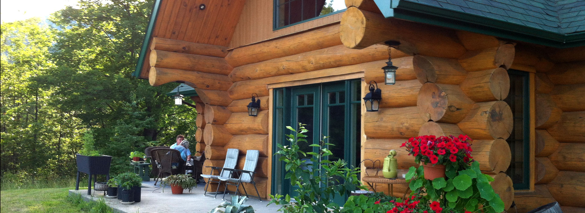Galerie de maisons maison en bois rond